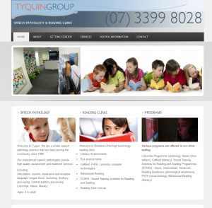 Tyquin Group website by quantum seo solutions
