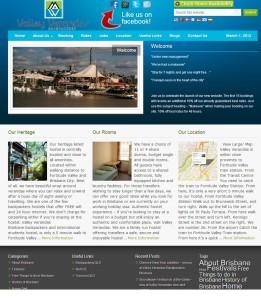 valley veranda website by quantum seo solutions
